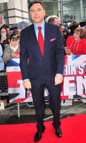 David Walliams at the Britain's Got Talent auditions in Belfast, Northern Ireland 18 Jan 2014