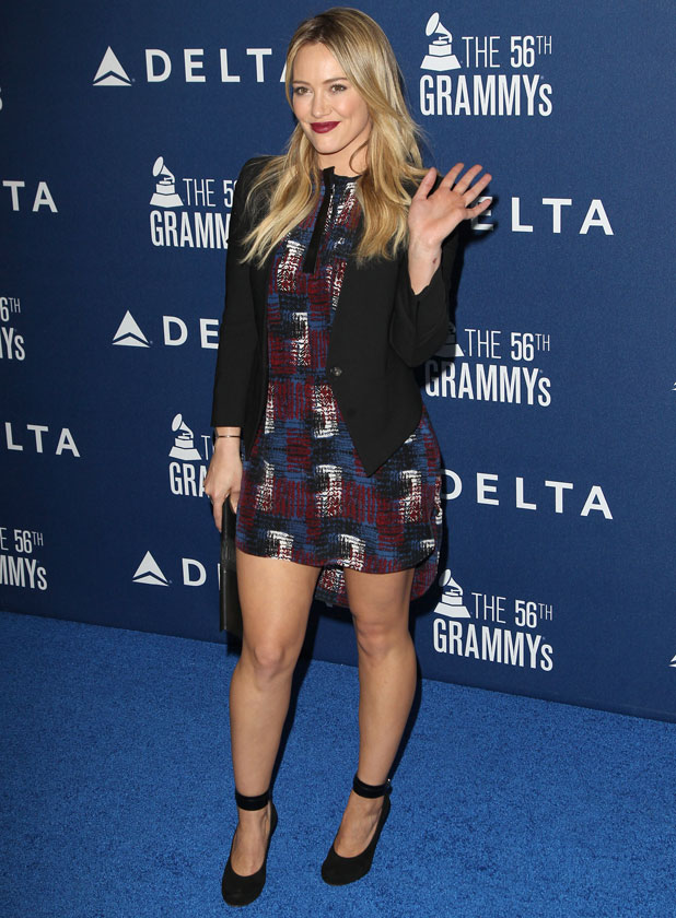 Hilary Duff, Delta Airlines Pre-Grammy Party At Soho House, 23 January 2014