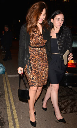 Imogen Thomas, Nuts 10th Anniversary Party, Aura, London, Britain - 23 Jan 2014