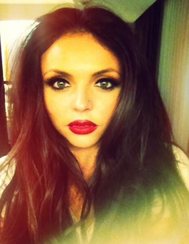 little mixs jesy nelson pierces her nose picture