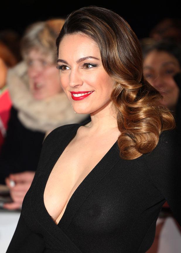 Kelly Brook at the National Television Awards, 22 January 2014