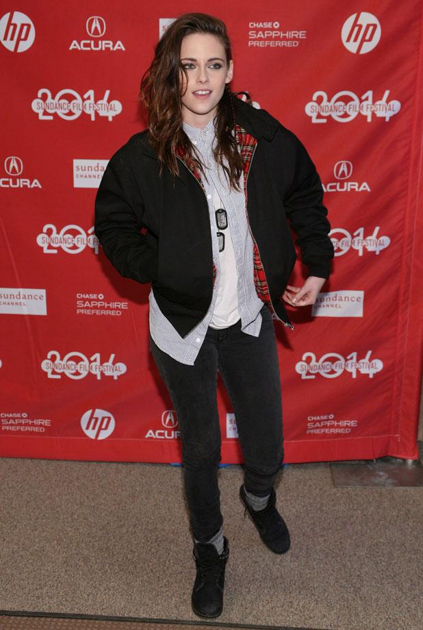 Kristen Stewart at Camp X-Ray Film Premiere, Sundance Film Festival 2014, Park City, Utah, America - 17 Jan 2014