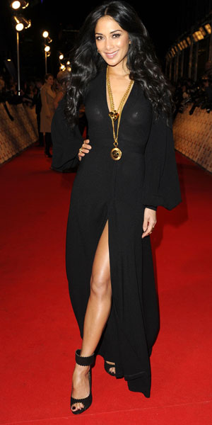 Nicole Scherzinger at the NTAs in 2013