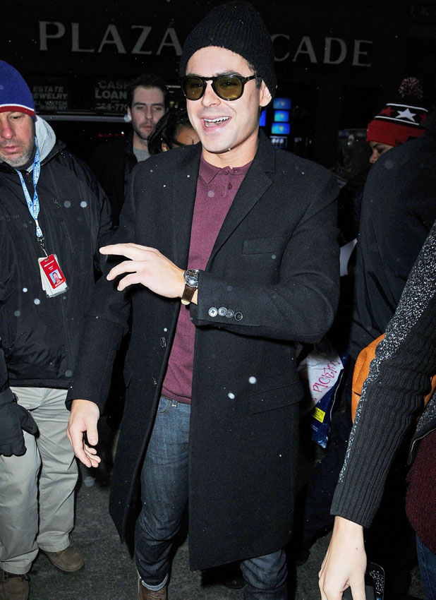 Zac Efron, 'The Today Show' TV show, New York, America - 21 Jan 2014