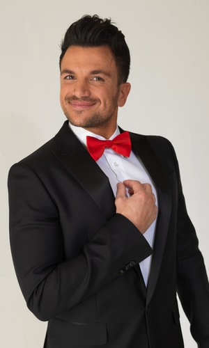 Peter Andre shares behind the scenes photos for new music video 'Kid'.