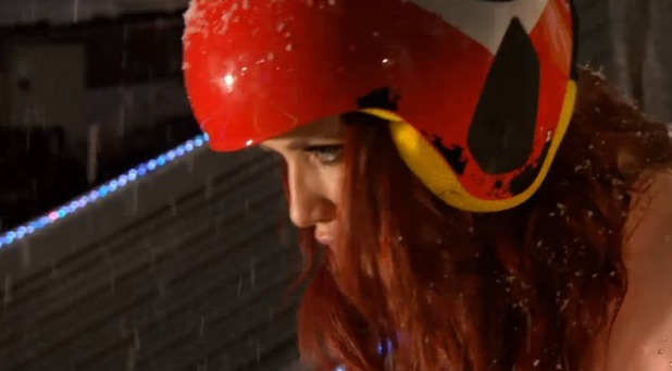 Amy Childs refuses to do The Jump - 27 January 2014