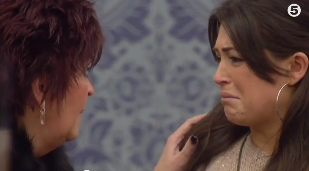 Casey Batchelor's mum Kim enters the Celebrity Big Brother house - 26 January 2014