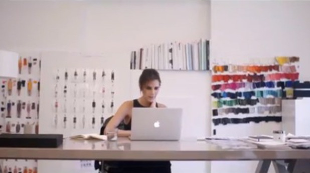 Victoria Beckham stars in her documentary: Five Years The Victoria Beckham Fashion Story January 2014