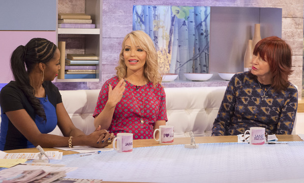 'Loose Women' TV Programme, London, Britain - 29 Jan 2014 Jamelia, Katie Piper and Janet Street-Porter