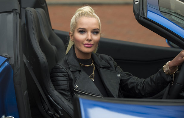 Helen Flanagan promoting e-cigarettes brand KiK in Manchester - 29.1.2014