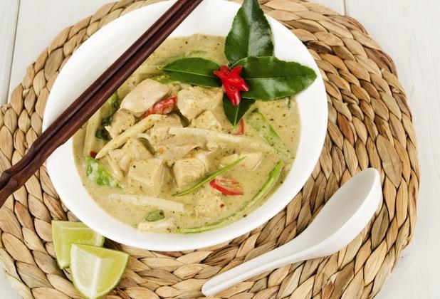 Ken Hom's Thai green curry