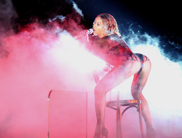 Beyonce Knowles, The 56th Annual GRAMMY Awards held at the Staples Center - Performance