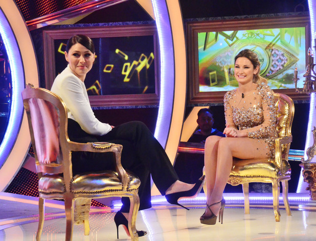 Sam Faiers is evicted from Celebrity Big Brother in fifth place 29 January 2014