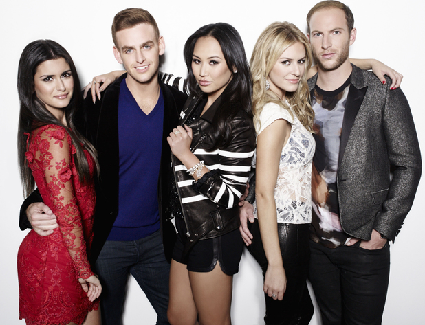 Morgan Stewart, Brendan Fitzpatrick, Dorothy Wang, Roxy Sowlaty, Jonny Drubel - stars of new E! reality show, #Rich Kids of Beverly Hills.
