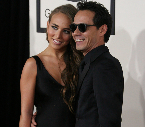 Marc Anthony, Chloe Green: The 56th Annual GRAMMY Awards (2014) held at the Staples Center in Los Angeles, CA. 26-1-2014