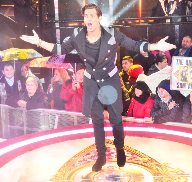 Ollie Locke is evicted from Celebrity Big Brother in third place 29 January 2014