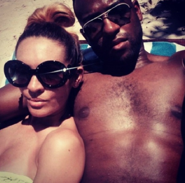 JLS's Oritse Williams on holiday with AJ Azari in Maradiva.