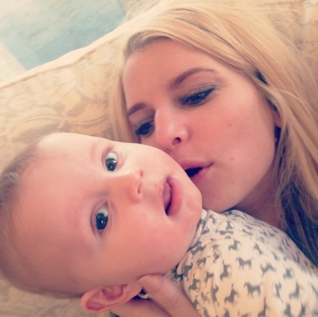 Jessica Simpson shares new family pictures of Ace, Maxwell and Eric Johnson - 29 January 2014