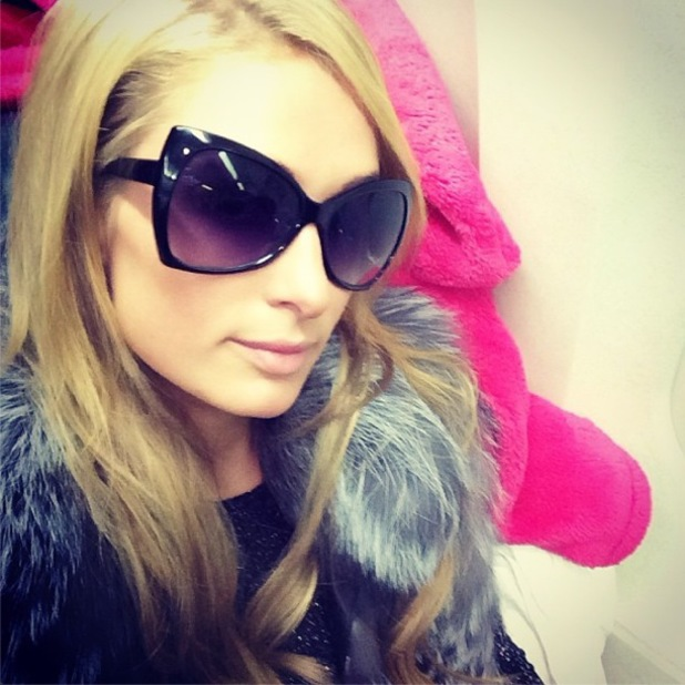 Paris Hilton flies from Los Angeles to New York - LAX airport - 30 January 2014