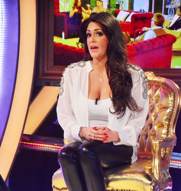 Casey Batchelor is evicted from Celebrity Big Brother in sixth place 29 January 2014