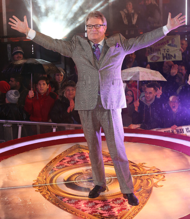 Jim Davidson wins Celebrity Big Brothe 29 January 2014