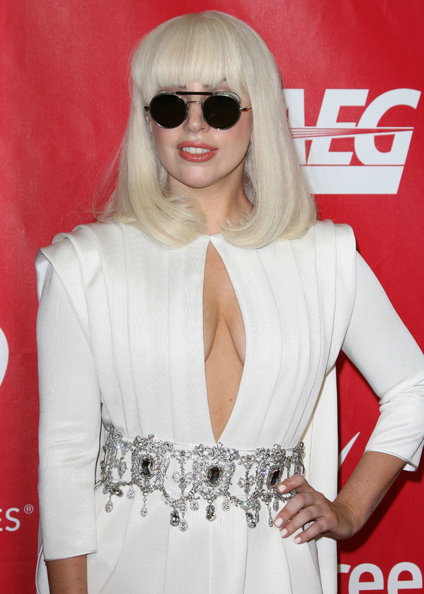 Lady Gaga - MusiCares 'Person of the Year: Carole King Tribute' held at the Los Angeles Convention Center - Arrivals 01/24/2014. Los Angeles, United States.