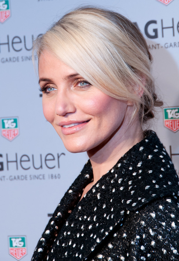 Cameron Diaz - TAG Heuer flagship store opening in New York, America - 28 January 2014