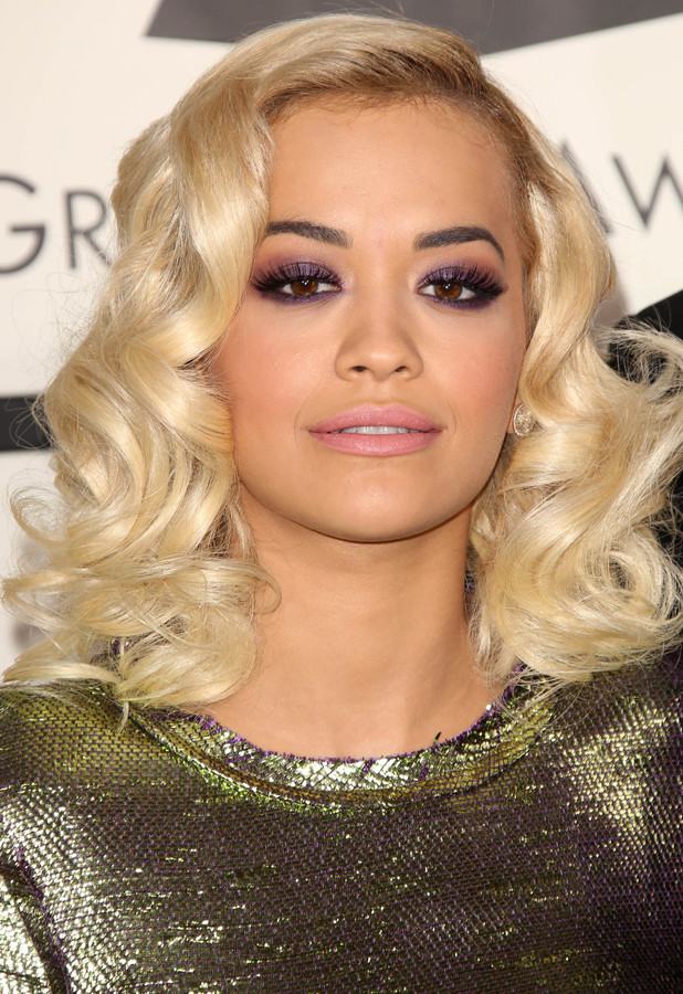 Rita Ora at the 56th Annual Grammy Awards in Los Angeles, America, 26 January 2014