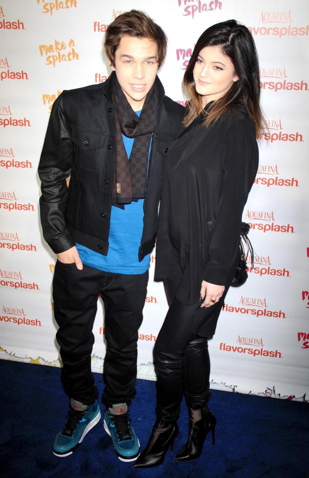 Kylie Jenner and Austin Mahone attend PepsiCo's Super Bowl celebration - New York - 29.1.2014