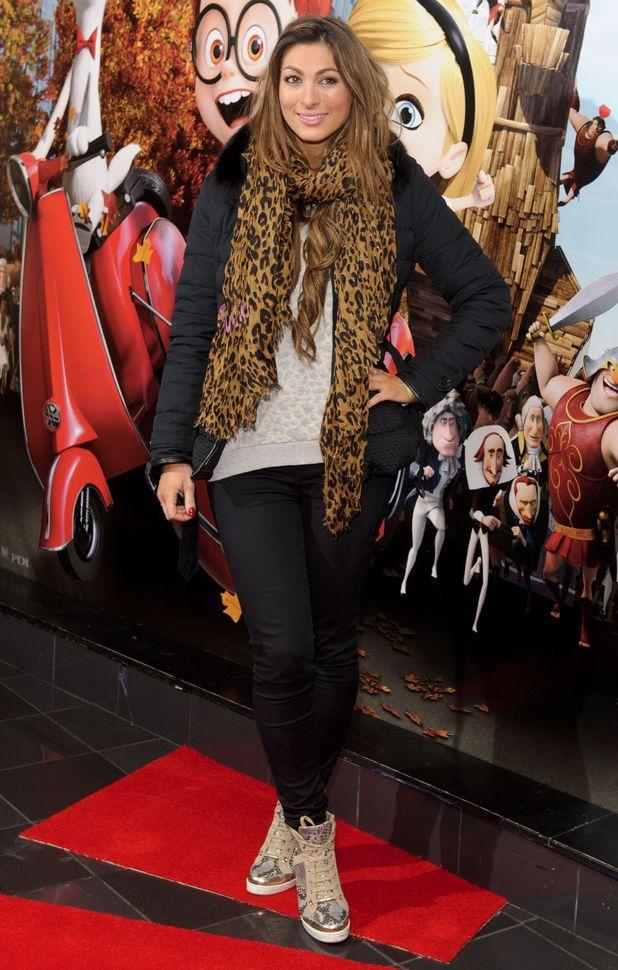 Luisa Zissman attends the VIP gala screening of Mr Peabody And Sherman 3D in London - 01 Feb 2014