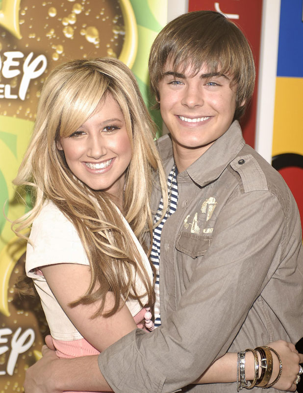 Ashley Tisdale and Zac Efron at the Disney Channel Stars meet the New York Press event held at Splashlight Studios, 2006