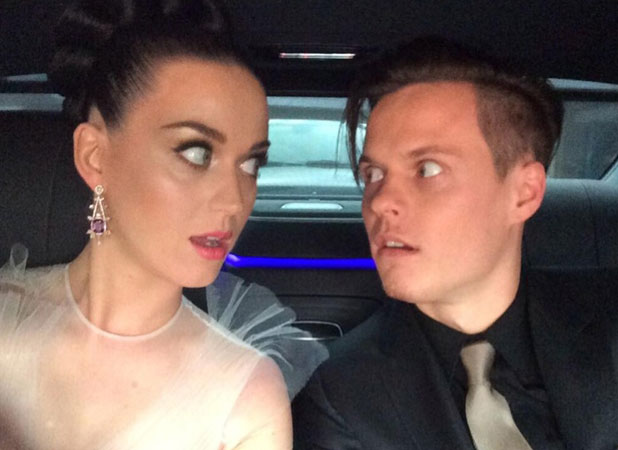 Katy Perry and David Hudson, The 56th Annual GRAMMY Awards held at the Staples Center, 26 January 2014