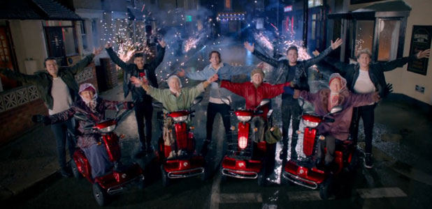 One Direction's Midnight Memories video, screenshot, released 31 January 2014