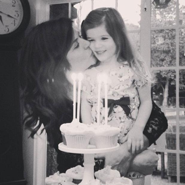 Tiffani Thiessen celebrates her 40th birthday, 23 January 2014