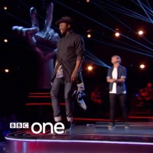 The Voice UK judge will.i.am performs Irish dancing. Aired 8 February 2014.
