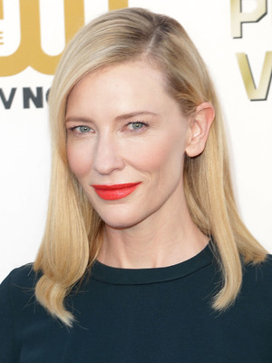 Cate Blanchett, the 19th Critics' Choice Movie Awards Ceremony LIVE on The CW Network at The Barker Hangar. 16 January 2014