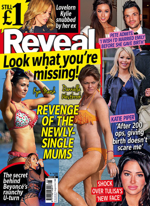 Reveal magazine cover, issue five, 2014