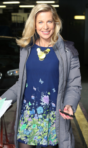 Katie Hopkins outside the ITV studios, London - 2013