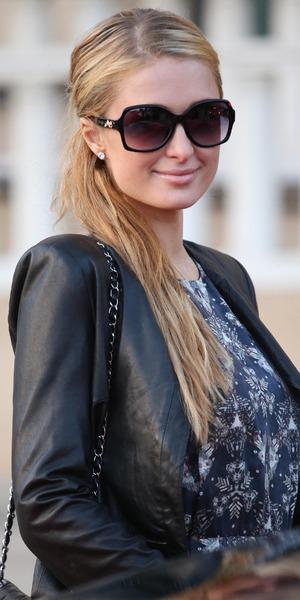 Paris Hilton leaves Barneys of New York in Los Angeles, America - 4 February 2014