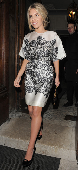 Mollie King at the Best of British Talent party in London, England - 4 February 2014