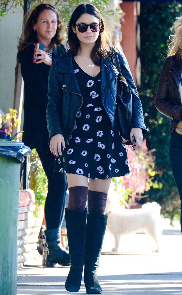 Vanessa Hudgens out in Los Angeles, America - 5 February 2014