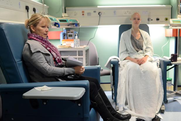 EastEnders, Carol's first chemo, Fri 7 Feb