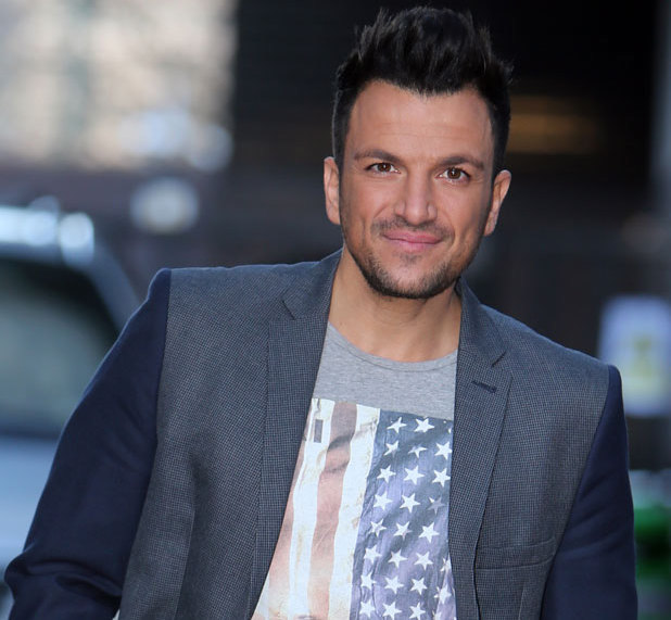 Peter Andre outside the ITV studios in London, 4 February 2014