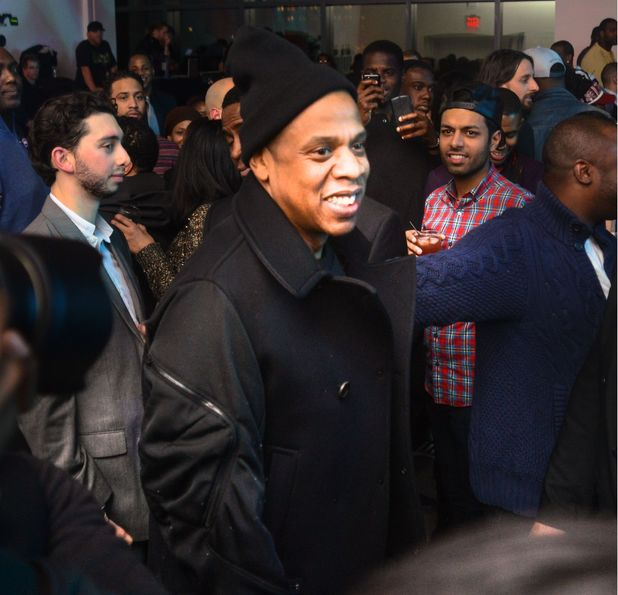 Hennessy VS Presents 'Never Stop. Never Settle' at Spring Studios, New York, America - 02 Feb 2014 Beyoncé, Jay Z, Kelly Rowland