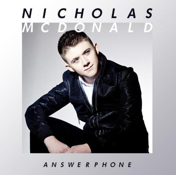 Nicholas McDonald's cover artwork for debut single 'Answerphone'. (4 February 2014).