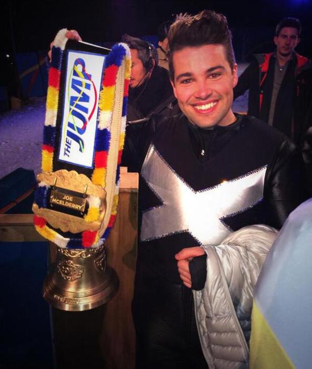 Joe McElderry wins The Jump - 4 Feb 2014