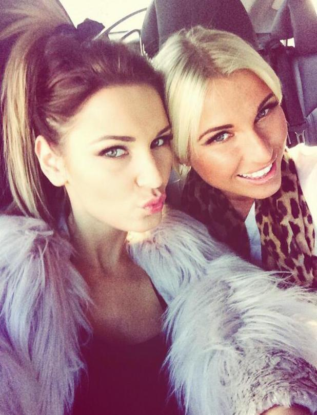 TOWIE's Sam and Bilie Faiers head out together on a photo shoot.