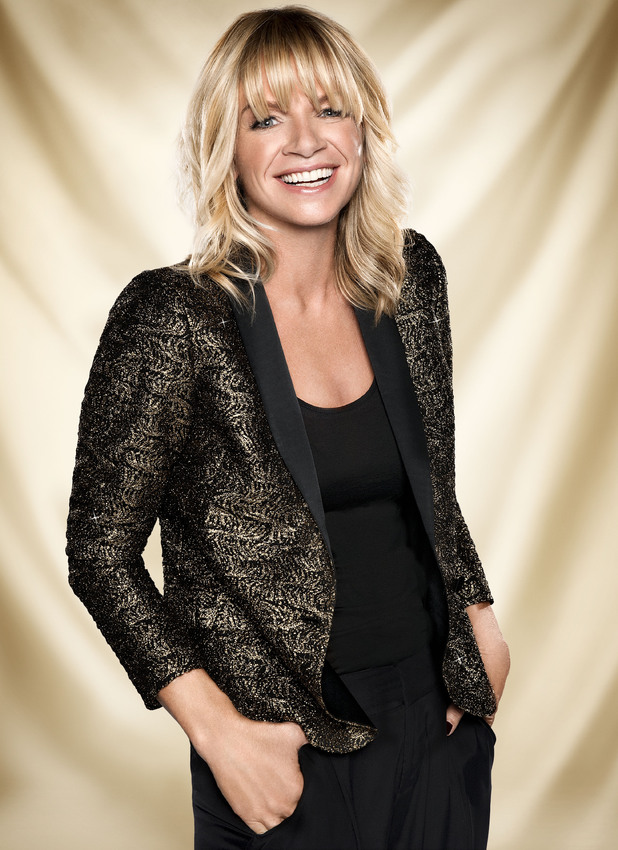Zoe Ball in promo shot for BBC2's Strictly: It Takes Two, 2013