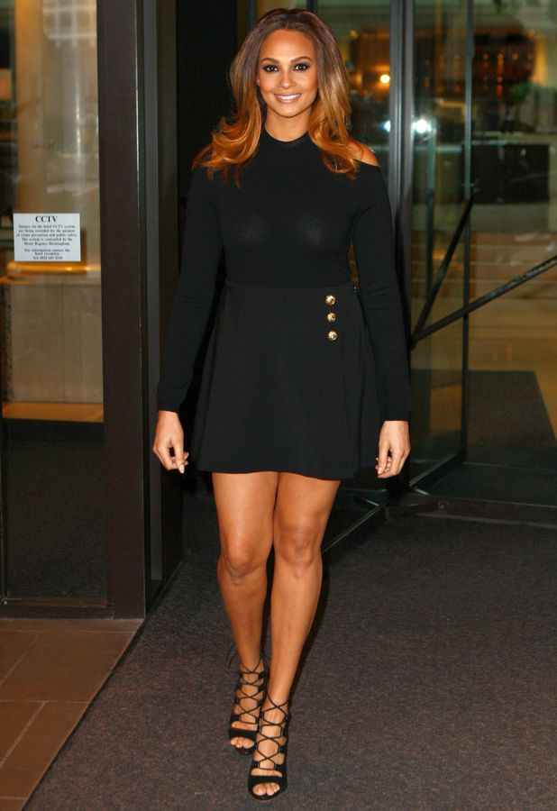 Alesha Dixon leaves her hotel in Birmingham before heading to the Britian's Got Talent auditions - 3 February 2014
