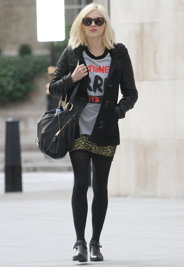 Fearne Cotton makes her way to the Radio 1 studios in London - 3 February 2014